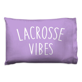 Girls Lacrosse Pillow Case - Lacrosse Vibes