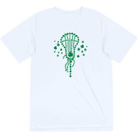 Girls Lacrosse Short Sleeve Performance Tee - Shamrock Lacrosse Stick