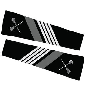 Lacrosse Printed Arm Sleeves - Lacrosse Sticks with Stripes