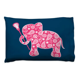 Girls Lacrosse Pillowcase - Elephant