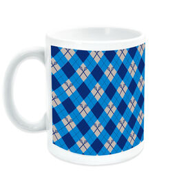 Lacrosse Coffee Mug Lax Argyle