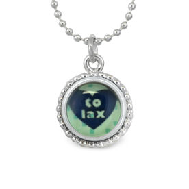 Heart To Lax SportSNAPS Necklace
