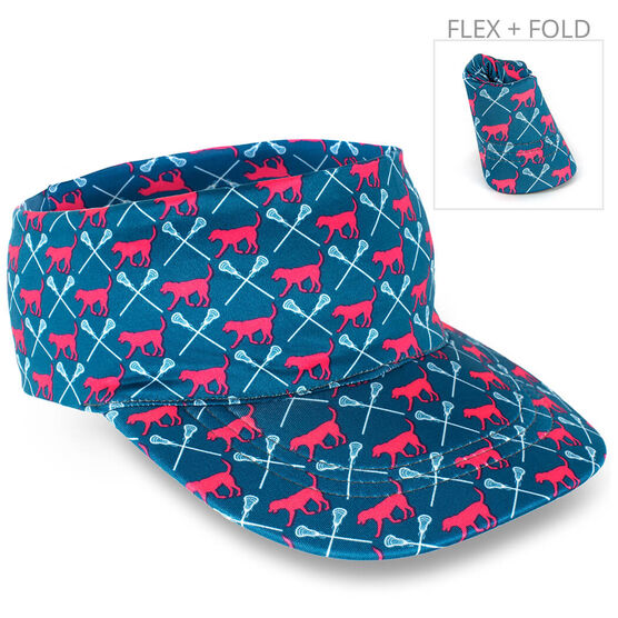 Girls Lacrosse Comfort Performance Visor -  LulaLax