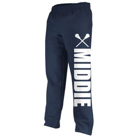 Lacrosse Fleece Sweatpants Lacrosse Middie Bold
