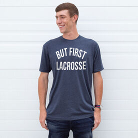 Lacrosse Short Sleeve T-Shirt - But First Lacrosse