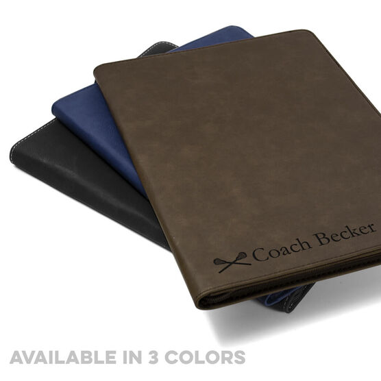 Lacrosse Executive Portfolio - Coach Name with Icon