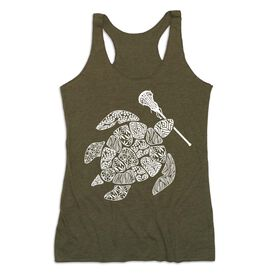 Girls Lacrosse Women's Everyday Tank Top - Lax Turtle