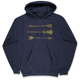 Lacrosse Standard Sweatshirt Lacrosse Arrows