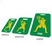 Girls Lacrosse Bag/Luggage Tag - Personalized Goalie
