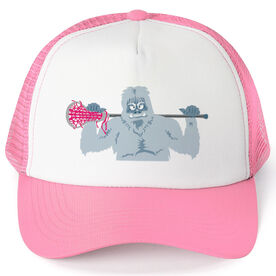 Girls Lacrosse Trucker Hat You Yeti To Lax?
