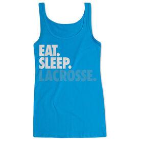 Girls Lacrosse Women's Athletic Tank Top Eat. Sleep. Lacrosse.