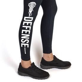 Girls Lacrosse Leggings - Defense