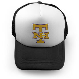 Trucker Hat - New Hampshire Tomahawks Logo (Black)  - SS