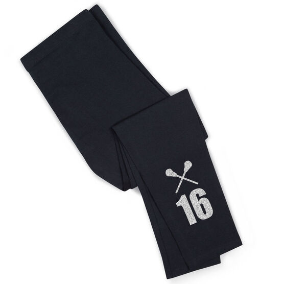Lacrosse Leggings Number