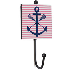 Girls Lacrosse Medal Hook - Lacrosse Sticks Anchor