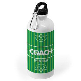 Girls Lacrosse 20 oz. Stainless Steel Water Bottle - Coach Field