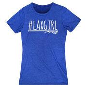 Girls Lacrosse Women's Everyday Tee - #LAXGIRL