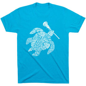 Girls Lacrosse Short Sleeve T-Shirt - Lax Turtle