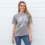 Girls Lacrosse Short Sleeve T-Shirt - Lax Shamrock