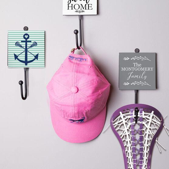 Girls Lacrosse Medal Hook - Lacrosse Sticks Anchor