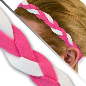 GripBand Headband - Pink White