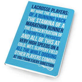 Girls Lacrosse Notebook - Lacrosse Players