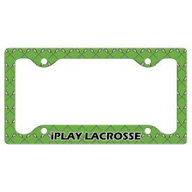 iPLAY...LACROSSE License Plate Holder