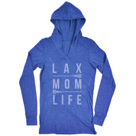 Girls Lacrosse Lightweight Performance Hoodie - Lax Mom Life