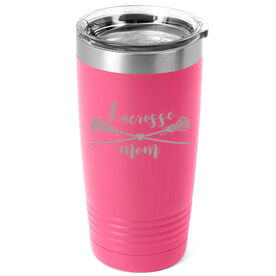 Girls Lacrosse 20oz. Double Insulated Tumbler - Lacrosse Mom
