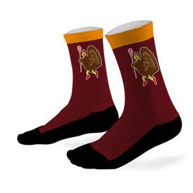 Lacrosse Printed Mid Calf Socks Lacrosse Turkey
