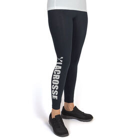 Girls Lacrosse Leggings Lacrosse