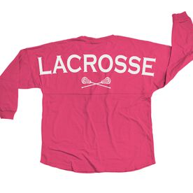 Lacrosse Statement Jersey Lacrosse With Crossed Sticks