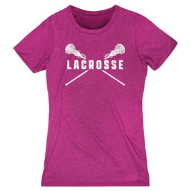 Girls Lacrosse Women's Everyday Tee - Crossed Girls Sticks