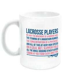 Girls Lacrosse Coffee Mug - Lacrosse Players