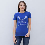 Girls Lacrosse Everyday Tee - Rather Be Playing Lacrosse