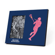 Girls Lacrosse Photo Frame - Player