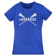 Girls Lacrosse Women's Everyday Tee - Crossed Girls Sticks