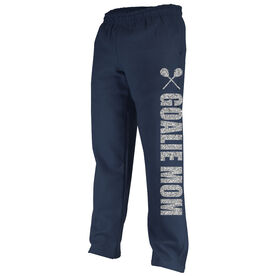 Lacrosse Fleece Sweatpants Goalie Mom