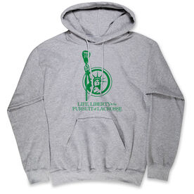 Lacrosse Standard Sweatshirt - Life, Liberty, and the Pursuit of Lacrosse