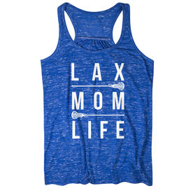Girls Lacrosse Flowy Racerback Tank Top - Lax Mom Life