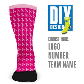 Customized Printed Mid Calf Team Socks Hope