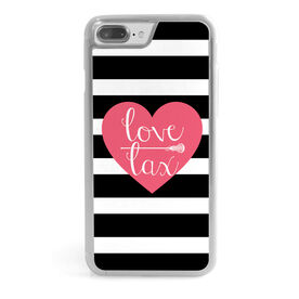 Girls Lacrosse iPhone® Case - Love Lax Heart