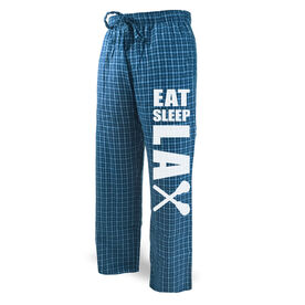 Lacrosse Lounge Pants Eat Sleep Lax