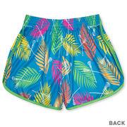Tropical Palm Lacrosse Shorts