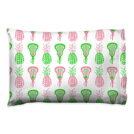 Girls Lacrosse Pillowcase - Pineapples