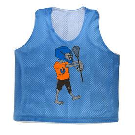 Girls Racerback Pinnie Lacrosse Zombie