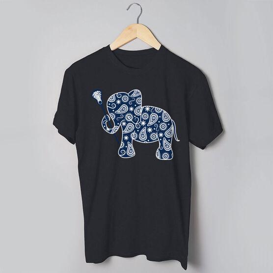 a17bf606 Girls Lacrosse Tshirt Short Sleeve Lax Elephant | LuLaLax