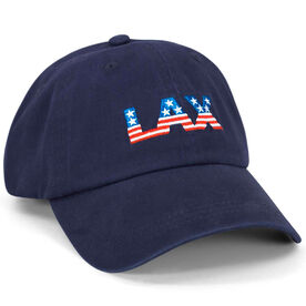 LAX Hat - Navy Blue