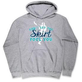 Girls Lacrosse Standard Sweatshirt - Skirts Fool You Lacrosse