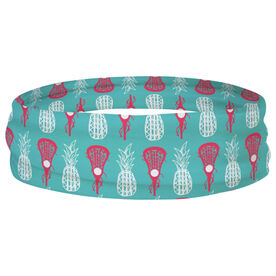 Girls Lacrosse Multifunctional Headwear - Lax Pineapples RokBAND